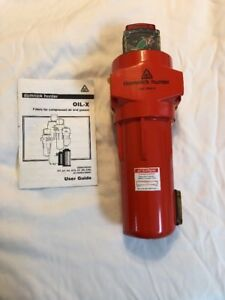 Domnick Hunter Oh2858 5 Compressed Air Filter Pneumatic Oil x