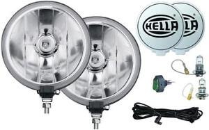 Hella 700ff Driving Lamp Kit 55w Round 7 322 Dia Clear Lens 010032801