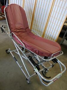 Mobile Transporter Cot Ambulance Stretcher Gurney 500lbs Ferno 35 a