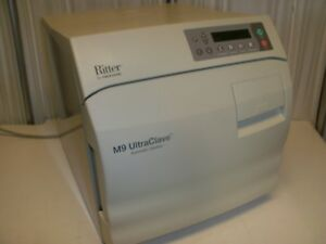 Ritter M9 Ultraclave Autoclave Steam Automatic Sterilizer System Only 366 Cycles