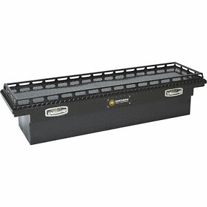 Northern Tool Crossover Low Profile 69in aluminum Truck Tool Box gloss Black