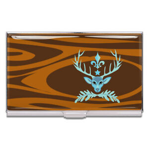 Acme Business Card Case Deer Prudence Bev Hogue Accessory Ac chbo01bc New