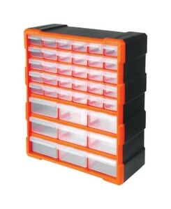 Tactix 320636 39 Drawers Storage Cabinet