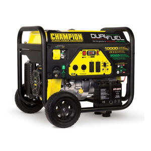 Champion 8000 Watt Portable Quiet Electric Start Rv Ready Dual Fuel Generator