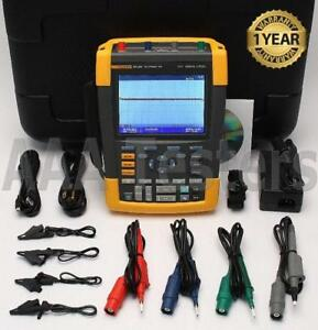 Fluke 190 204 Scopemeter 2 5gs s 4 Channel 200mhz Oscilloscope 190 204