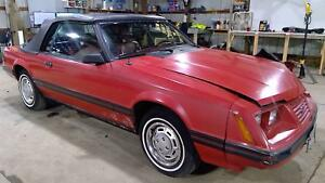 82 86 Ford Mustang Thunderbird 3 8 V6 Engine Assembly Video Tested