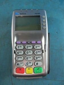 Verifone Vx805 Credit Card Reader Chip Pin Pad Used