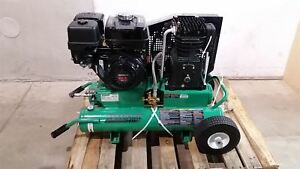 Speedaire 2yj61 9 0 Hp 8 0 Gal Tank Portable Gas Air Compressor