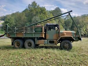 Army Deuce And A Half With Drill Rig