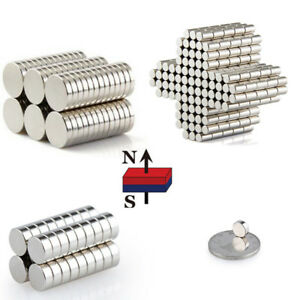 Lot 1 15mm Diameter Rare Earth Neodymium Strong Magnets N50 Strong Round Magnet