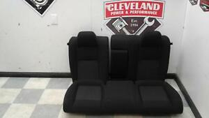 2015 2018 Dodge Challenger R T Rt Oem Black Cloth Rear Back Seat Seats