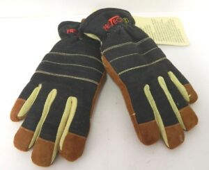 Techtrade Pro tech 8 Structural Fire Firefighting Protection Rescue Gloves Xxs