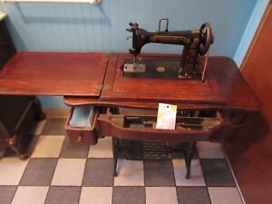 Antique Wheeler And Wilson Treadle Sewing Machine