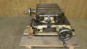 Advance Cross Slide Xy Rotary Table 11 X 11