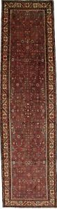 Nice S Antique Vintage Runner Hamedan Persian Rug Oriental Area Carpet 3 6x13 3