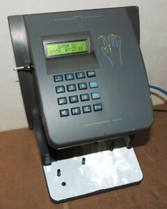 Handpunch 3000 Biometric Time Clock Recognition Systems Working
