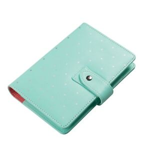 Green A5 Filofax Round Ring Binder Refillable Paper Calendar Planner Ups Ship Us