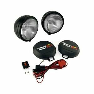 Rugged Ridge Hid Off Road Lights 35w Round 5 Dia Clear Lens 1520552