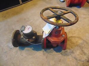 Kenned Valve Fire Main Gate Valve 3 Hpt 20 Gallons R246x