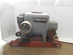 1936 international harvester mccormick deering la engine 1 1 2 2 1 2 hp