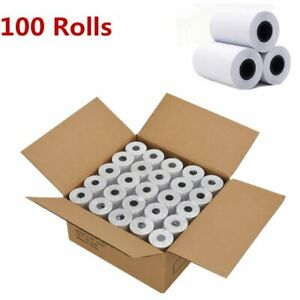 100 Rolls 2 1 4 X 50 Cash Register Credit Card Thermal Paper Pos Receipt Us