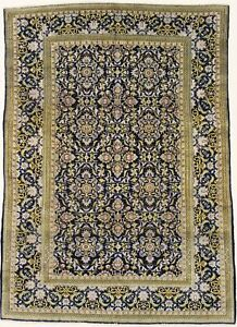 Semi Antique Traditional 7x10 Handmade Persian Rug Oriental Home D Cor Carpet