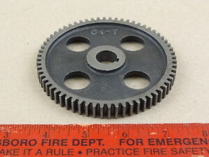 Nice Original Logan 9 10 Lathe 64 Tooth Threading Change Gear 5 8 Bore