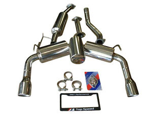 Top Speed Pro 1 Performance Exhaust System Fits Infiniti Fx35 Fx37 Fx50 09 14