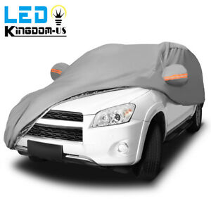 Full Car Cover Waterproof All Weather Suv Protection Rain Snow Dust Resistant