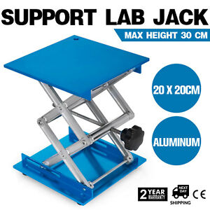 8 Stainless Steel Lab Stand Table Scissor Lift Laboratory Jiffy Jack 20 20cm