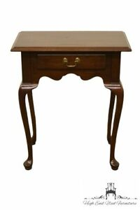 Ethan Allen Georgian Court Entry Table Nightstand 225 Vintage Finish 11 9015