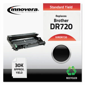 Innovera Dr720 Remanufactured Black Drum Cartridge Unit 30 000 Page yield New