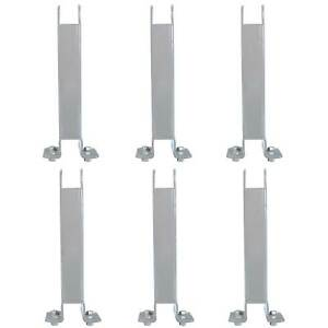 Field Tuff Heavy Duty Farm Tractor Drawbar Stabilizer Trailer Mover 6 Pack