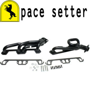 Pace Setter 70 1315 Painted Shorty Header 1996 2003 Ram 1996 Dakota 5 2l 5 9l V8
