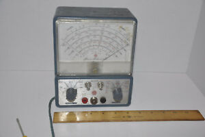 Vintage Superior Instruments Co Sico Model 77 Vacuum Tube Voltmeter Read
