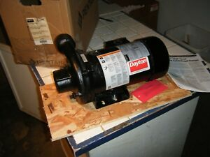 2 5 Hp 3 Phase Dayton Motor High Head Centrifugal Water Pool Pump Cast Iron