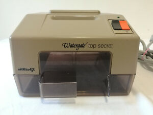 Shredex Vintage Watergate 2001 Nixon Industrial Mini Paper Shredder West Germany