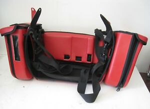 Philips Heartstart Mrx Soft Case Sides And Rear Red Carry Case
