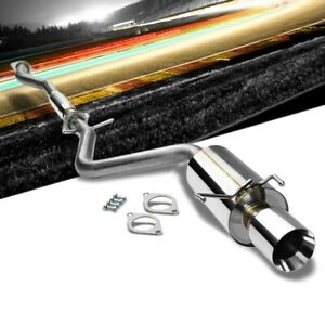 4 00 Roll Muffler Tip Catback Exhaust System For Lexus 01 05 Is300 Altezza Xe10
