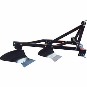 Nortrac 3 pt Two Bottom Plow Category 1