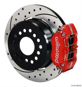 Wilwood Disc Brakes 140 13206 Dr Kit Rear Disc Drum Dp Db Small Ford 2 50