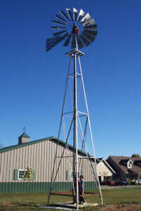 8ft A 702 Windmill With 21ft Tower All New