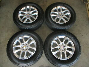 2018 Chevy Traverse Factory 18 Wheels Tires Oem Take Offs 23457322 6x120 5843