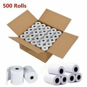 500 Rolls 2 1 4 X 50 Cash Register Credit Card Thermal Paper Pos Receipt Us