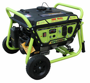 Green power Gpg4000w Gasoline Generator 4000w
