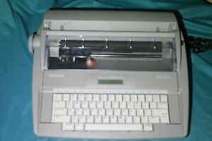 Brother Sx 4000 Electronic Lcd Display Typewriter Great Condition