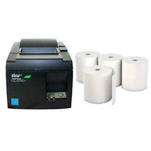 Star Micronics Tsp 143iiu Receipt Printer Productivity Bundle Easy To Use