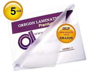 Qty 200 Letter Laminating Pouches 5 Mil 9 X 11 1 2 Hot