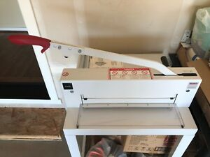 Triumph 4300 Guillotine Paper Cutter With Stand Made In Germany