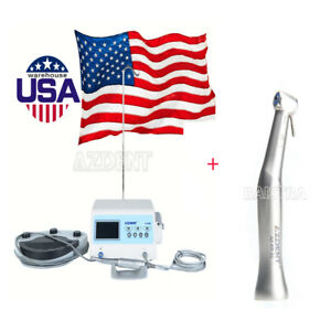 Dental Implant System A cube Surgical Brushless Motor 2pcs 20 1 Contra Angle